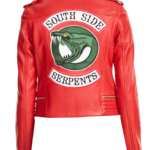 cheryl blossom southside red jacket Back