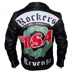 BSA Rockers Jacket Back