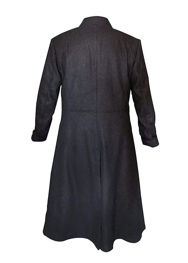 Matrix Long Coat Back