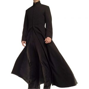 Matrix Long Coat Model