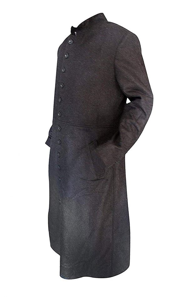 Matrix Long Coat Side