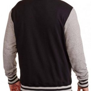 Star Wars Mens Wool Varsity Jacket Back